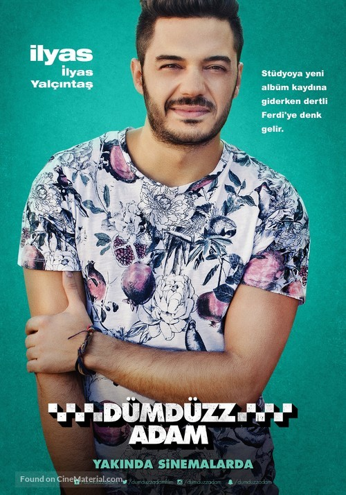 Dümdüzz Adam - Turkish Movie Poster