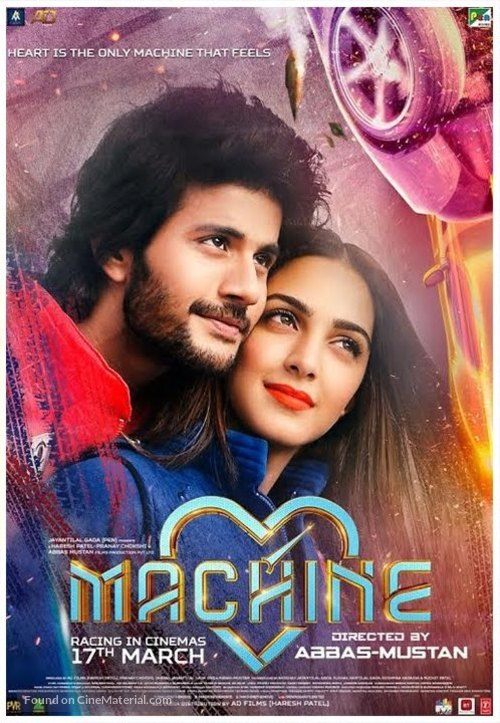 Machine (2017) Hindi Movie 480p HDRip 300MB ESubs