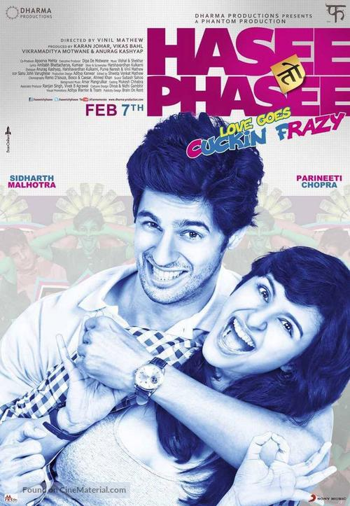 Hasee Toh Phasee - Indian Movie Poster