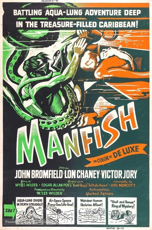 Manfish - Movie Poster