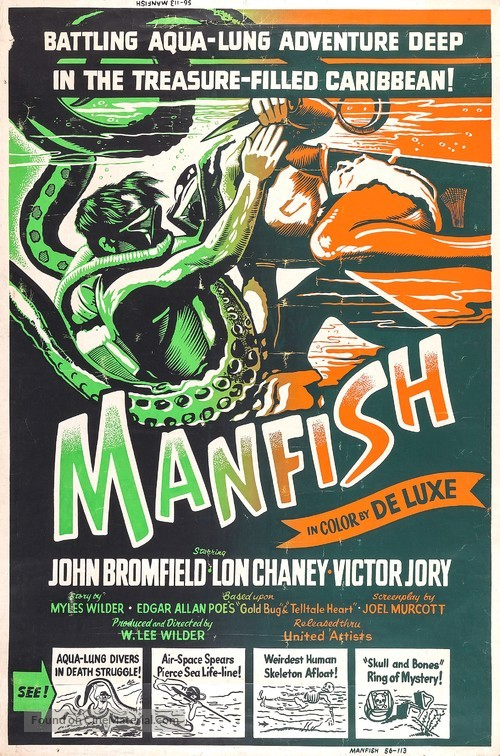 Manfish - Movie Poster