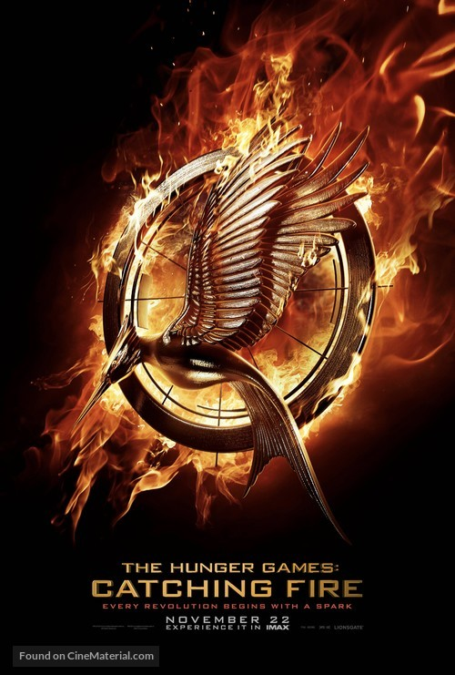 The Hunger Games: Catching Fire - Teaser movie poster