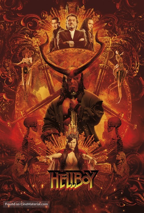 Hellboy - Key art