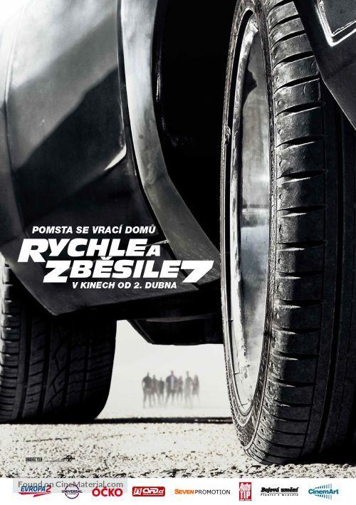 Furious 7 - Czech Movie Poster