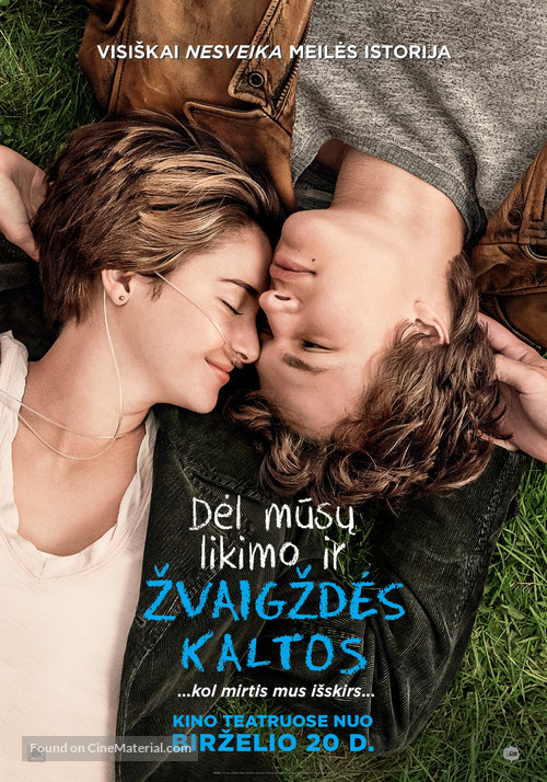 The Fault in Our Stars - Lithuanian Movie Poster