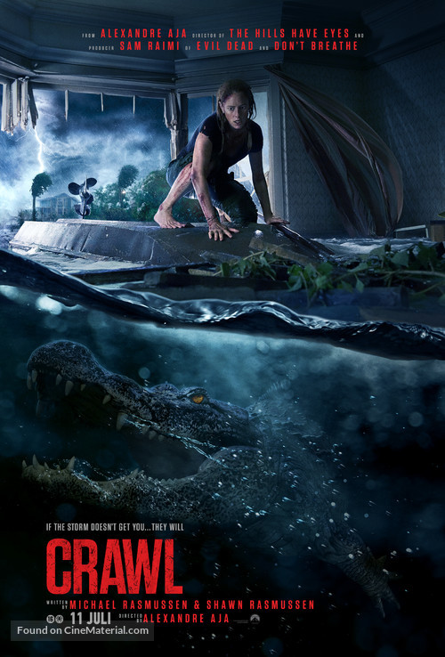 Crawl - Dutch Movie Poster