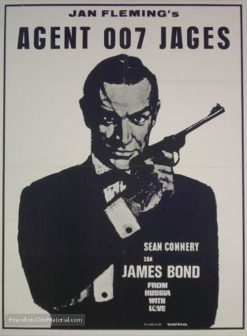 From Russia with Love - Danish Movie Poster