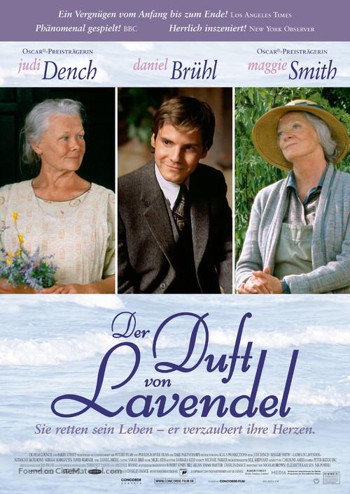 Ladies in Lavender - German Movie Poster