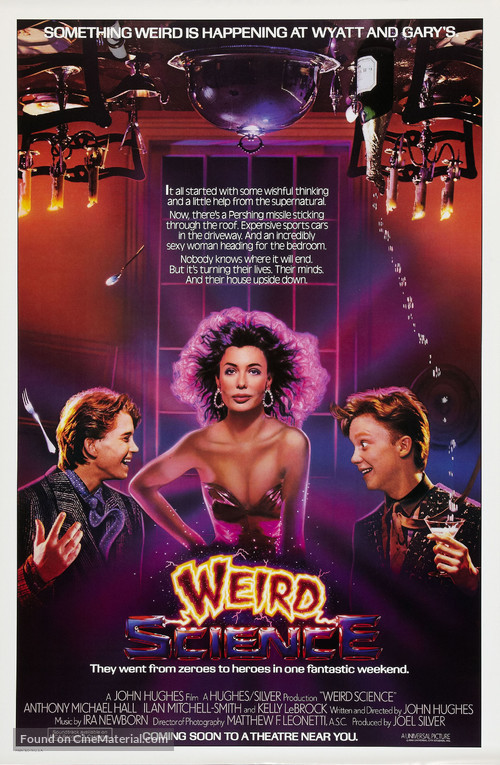 Weird Science - Advance poster