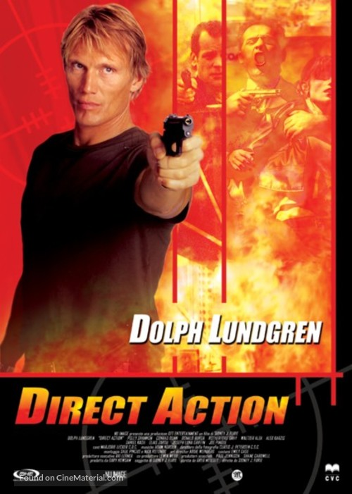 Direct Action - Italian DVD cover
