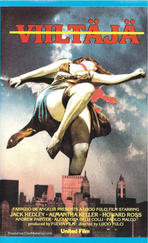 Lo squartatore di New York - Finnish VHS movie cover