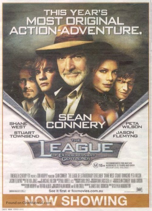 The League of Extraordinary Gentlemen - Movie Poster