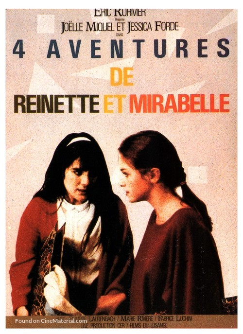 4 aventures de Reinette et Mirabelle - French Movie Poster