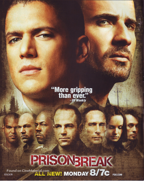 """Prison Break"" - Movie Poster"