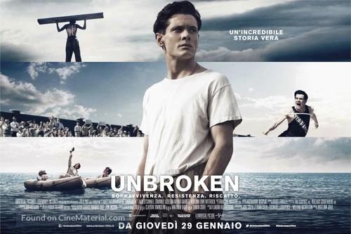 Unbroken Italian movie poster