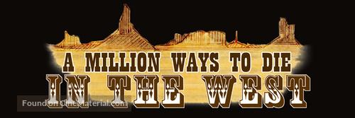 A Million Ways to Die in the West - Logo