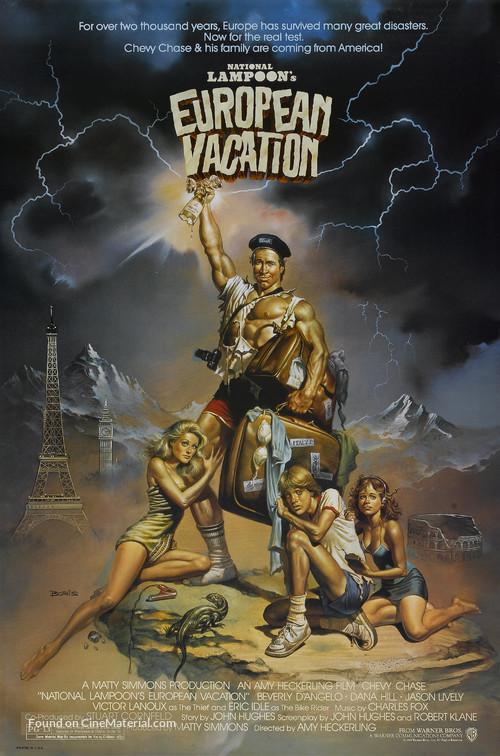 European Vacation - Movie Poster