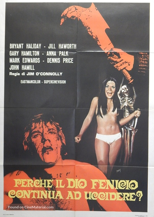 Tower of Evil - Italian Movie Poster