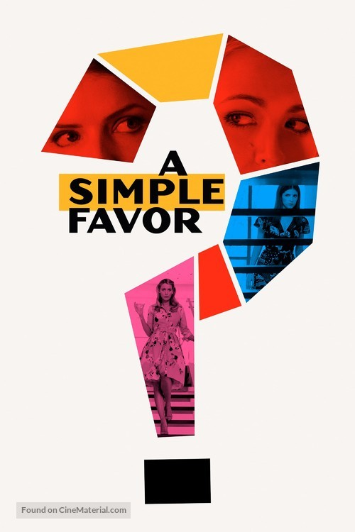 A Simple Favor - Movie Cover