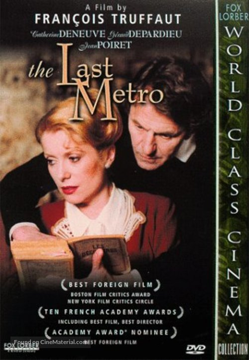 Le dernier métro - Movie Cover