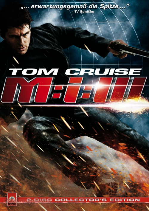 Mission: Impossible III German movie poster