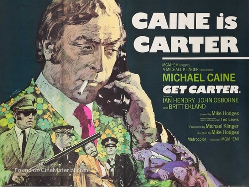 Get Carter - British Movie Poster
