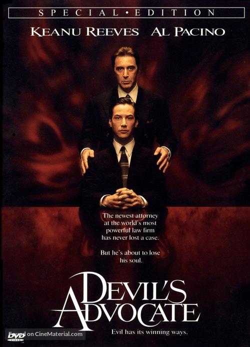The Devil's Advocate - DVD movie cover