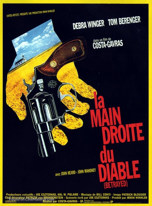 Betrayed - French Movie Poster