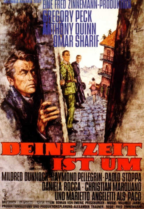 Behold a Pale Horse - German Movie Poster