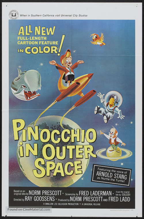 Pinocchio in Outer Space - Movie Poster