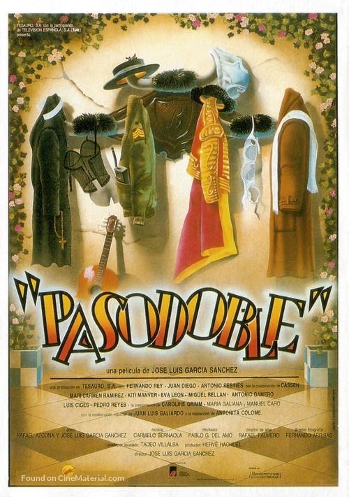 Pasodoble - Spanish Movie Poster