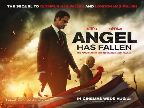 Angel Has Fallen - British Movie Poster