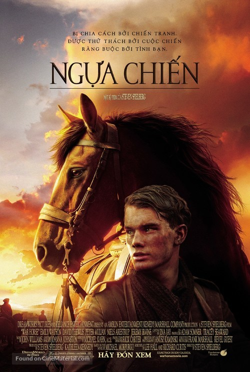 War Horse - Vietnamese Movie Poster