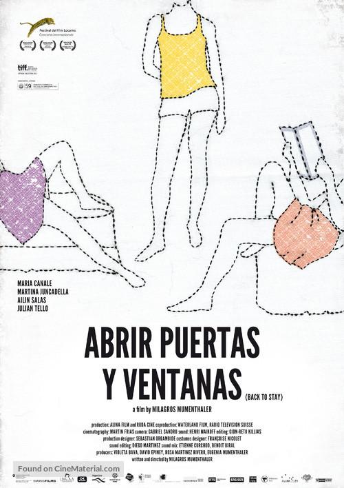 Abrir puertas y ventanas - Argentinian Movie Poster