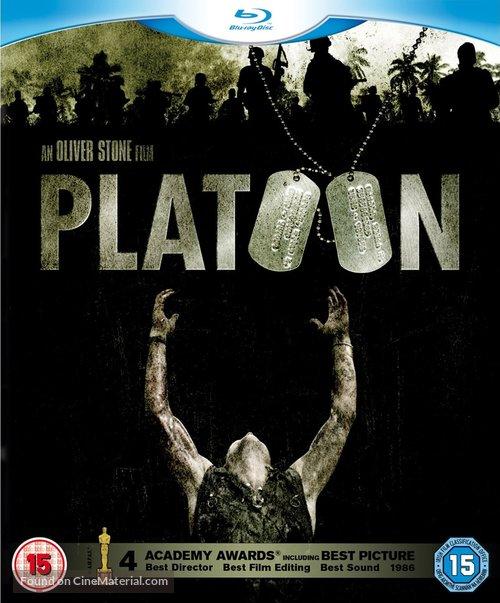 Platoon - British Blu-Ray movie cover