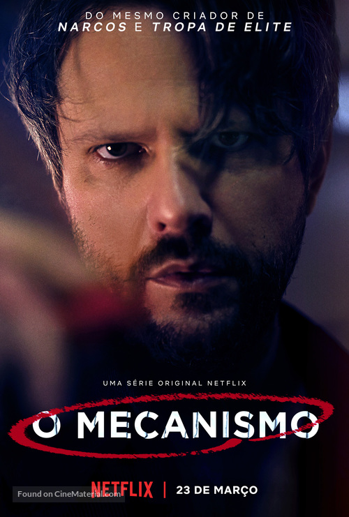 """O Mecanismo"" - Brazilian Movie Poster"