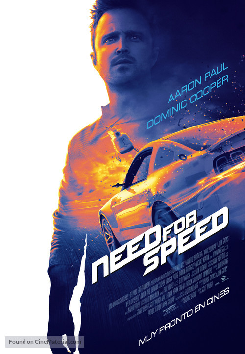 Need for Speed - Spanish Theatrical poster