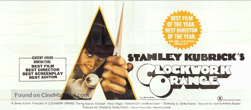 A Clockwork Orange - British Movie Poster