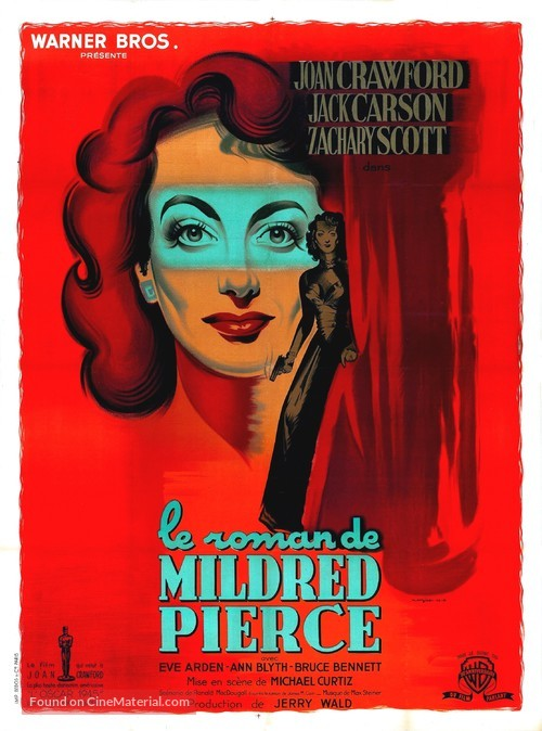 Mildred Pierce - French Movie Poster