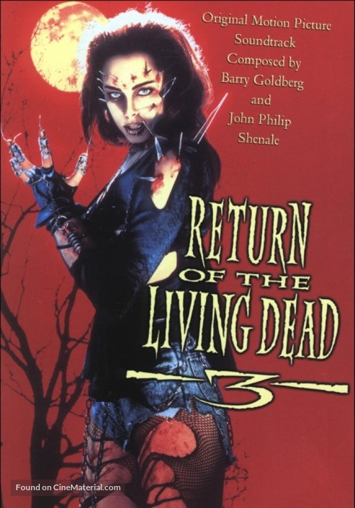 Return of the Living Dead III - Movie Cover