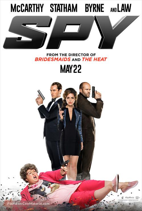 Spy - Movie Poster