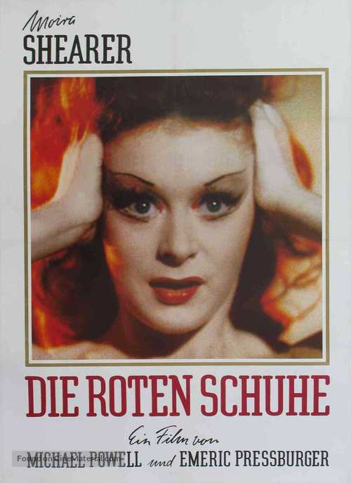 The Red Shoes - German Movie Poster