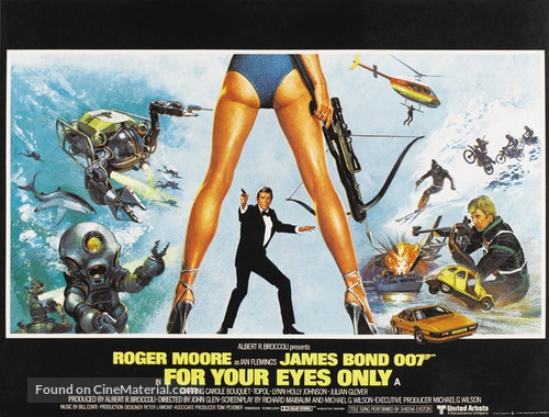 For Your Eyes Only - British Movie Poster