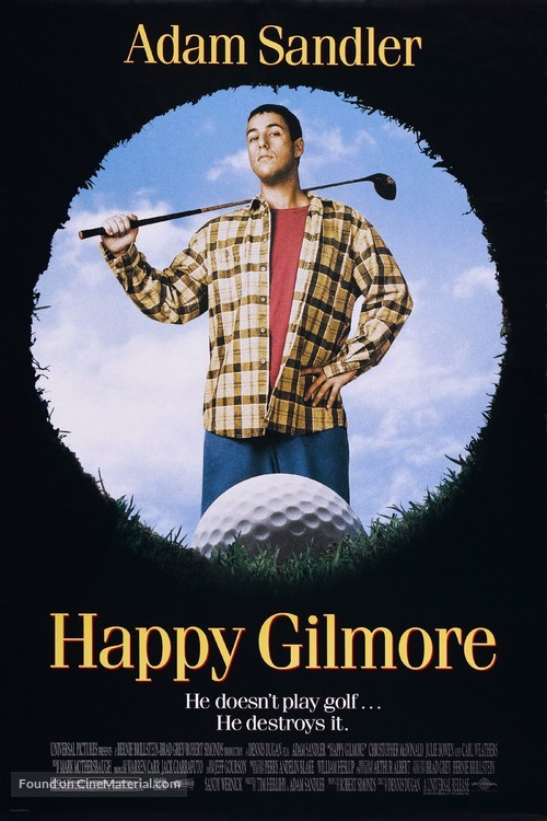 Happy Gilmore - Movie Poster