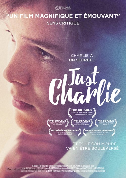 Just Charlie - French Movie Poster
