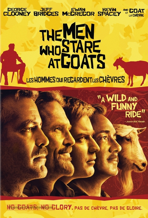 The Men Who Stare at Goats - Canadian DVD movie cover