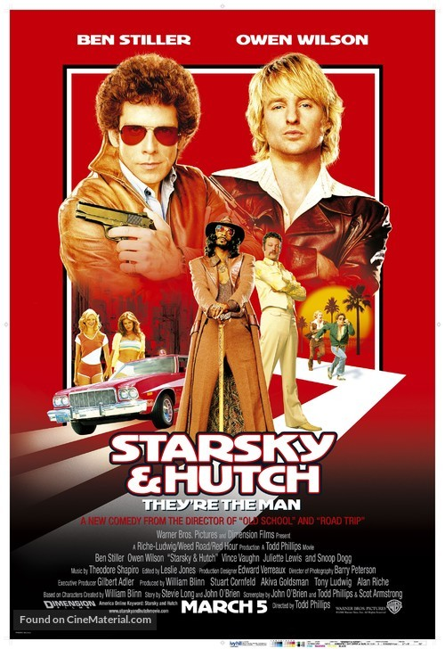 Starsky And Hutch - Movie Poster