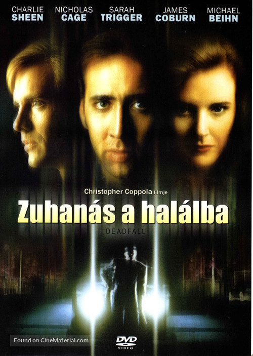Deadfall - Hungarian DVD cover