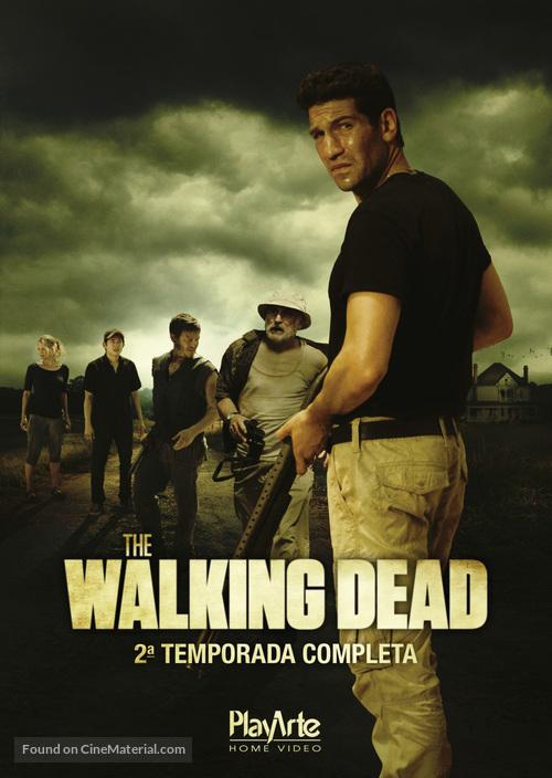 """""""The Walking Dead"""" - Brazilian DVD cover"""