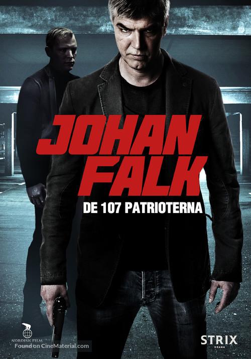 Johan Falk: De 107 patrioterna - Swedish Movie Poster